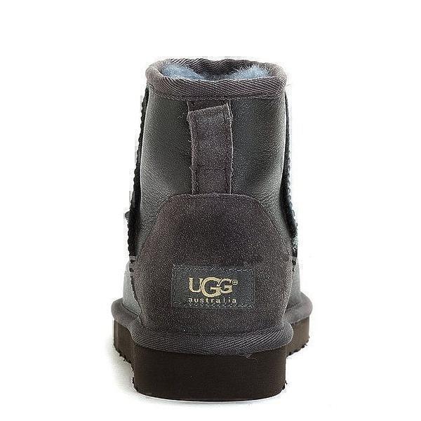 UGG Classic Mini Metallic Grey фото #2 в «GetKeds»
