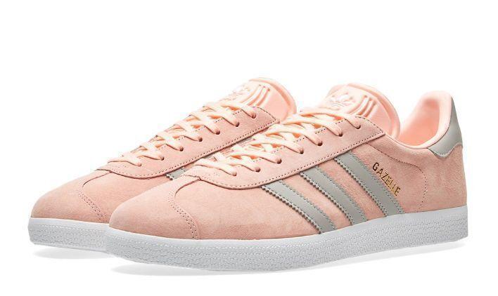 Кроссовки Adidas Gazelle W (Pink/Grey) фото в «GetKeds»
