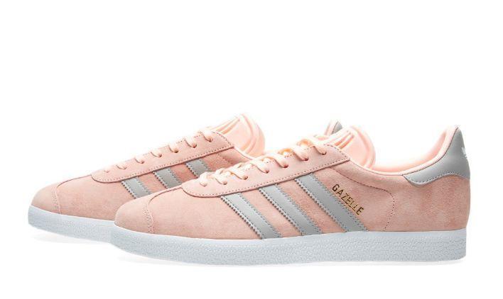 Adidas Gazelle W (Pink/Grey) фото #2 в «GetKeds»