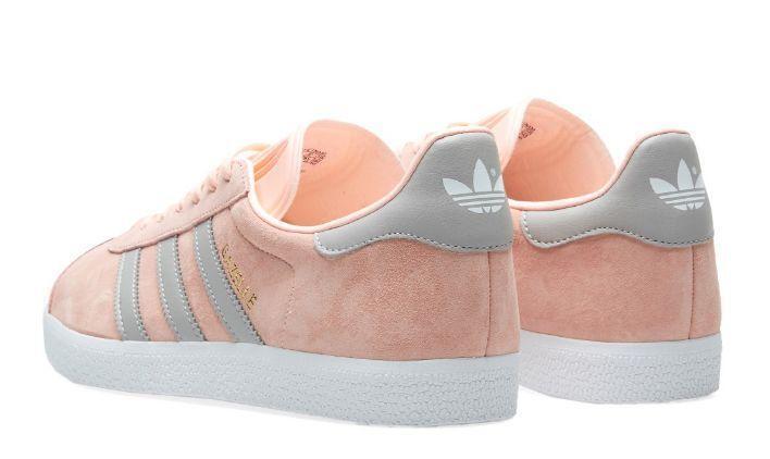 Adidas Gazelle W (Pink/Grey) фото #3 в «GetKeds»
