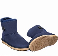 UGG Mini Bailey Button II Navy фото #2 в «GetKeds»