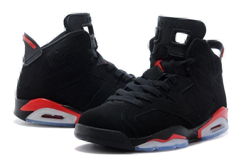 Air Jordan 6 Retro Black Infrared (Black/Red) фото #2 в «GetKeds»