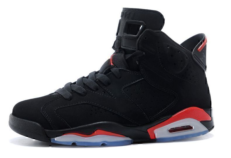 Air Jordan 6 Retro Black Infrared (Black/Red) фото #4 в «GetKeds»