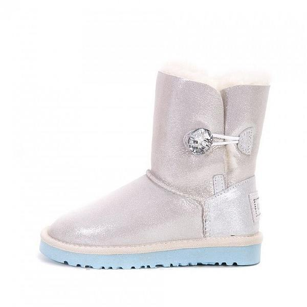 UGG Kids Bailey Button I Do White фото #3 в «GetKeds»