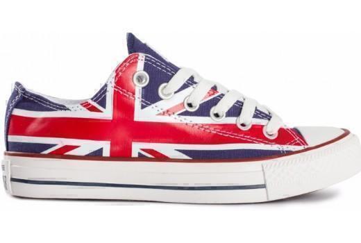 Кеды Converse Low British Flag фото в «GetKeds»