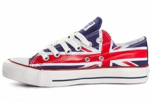 Converse Low British Flag фото #2 в «GetKeds»
