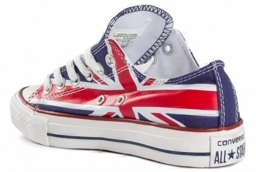 Converse Low British Flag фото #1 в «GetKeds»