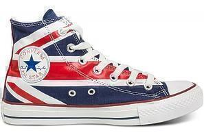 Кеды CONVERSE HIGH BRITISH FLAG