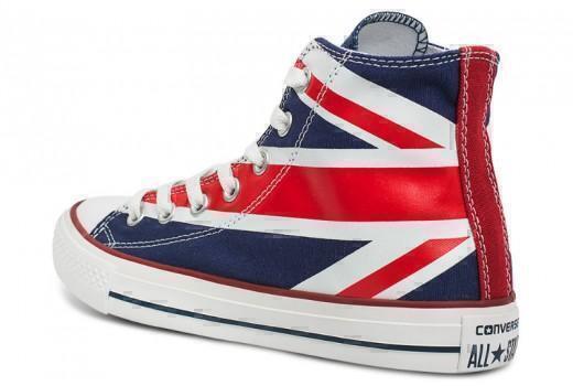 Кеды CONVERSE HIGH BRITISH FLAG фото #2 в «GetKeds»