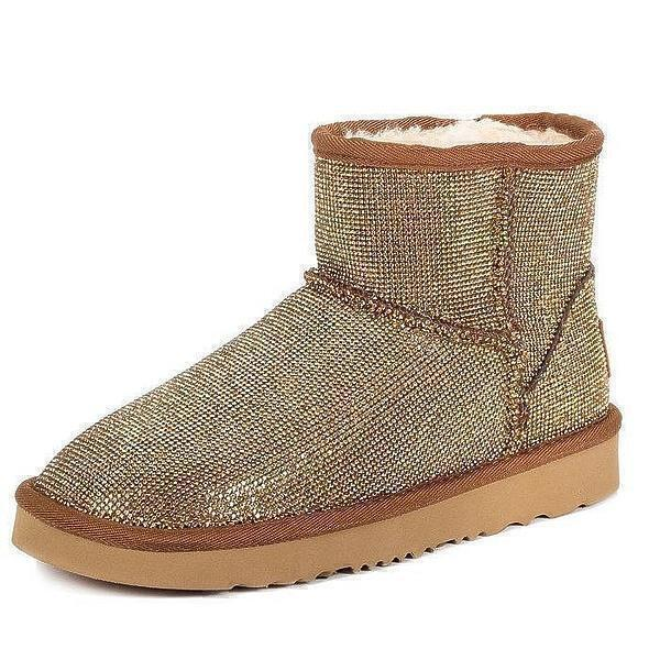 UGG & Jimmy Choo Mini Serein II Gold фото #4 в «GetKeds»