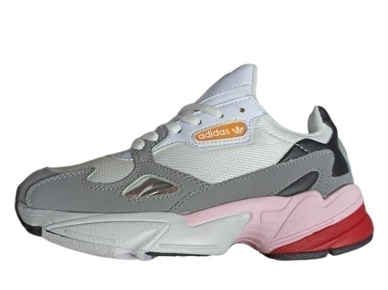 Кроссовки adidas falcon grey pink фото в «GetKeds»