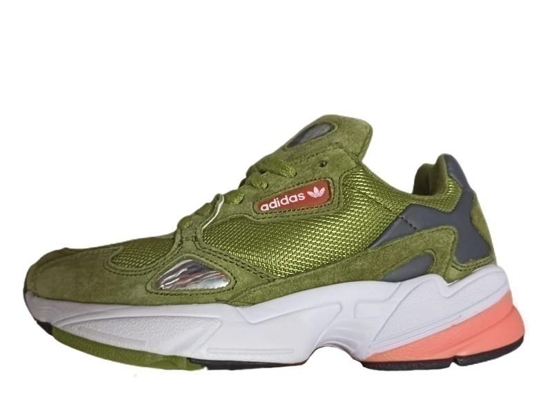 Кроссовки adidas falcon green  фото в «GetKeds»