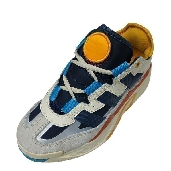 adidas niteball blue stripes фото #2 в «GetKeds»