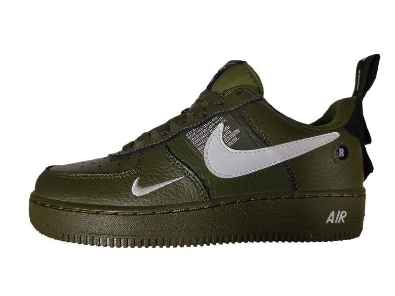 Кроссовки Nike Air Force 1 07 LV8 Utility green фото в «GetKeds»