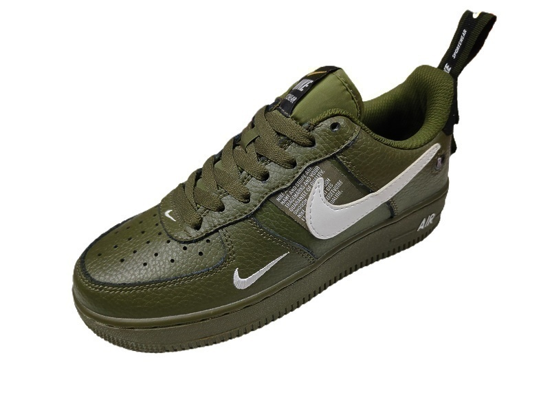 Nike Air Force 1 07 LV8 Utility green фото #2 в «GetKeds»