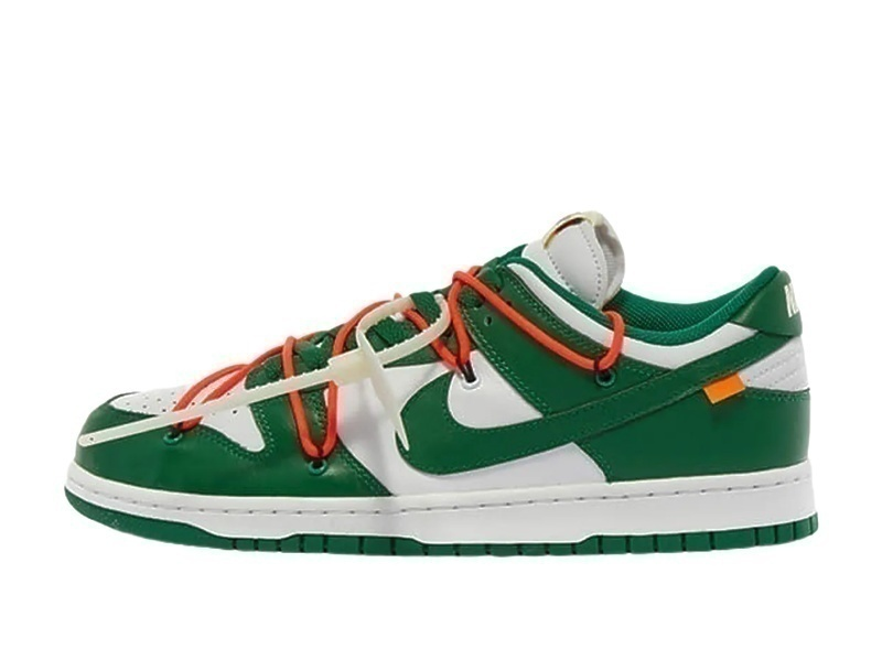 Кроссовки Nike Air Force 1 SB Dunk Low Off-White Green фото в «GetKeds»