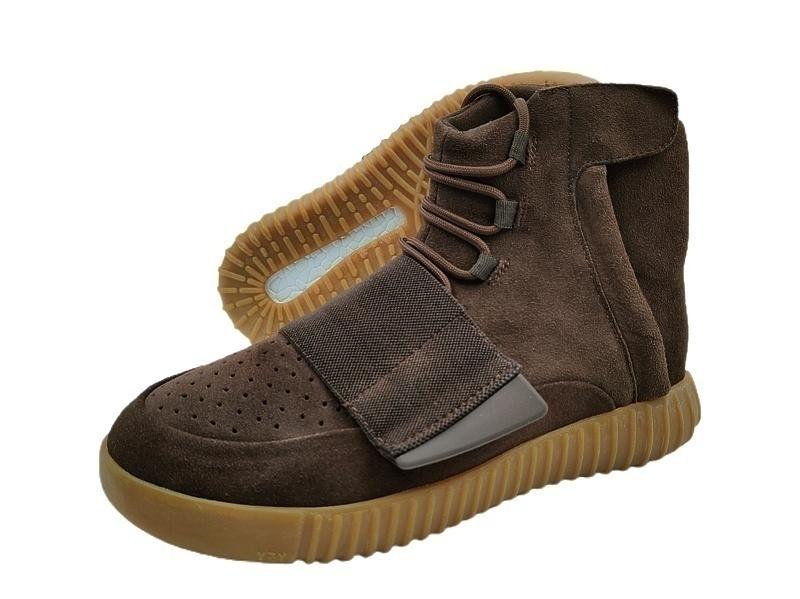 Кроссовки Adidas Yeezy Boost by Kanye West 750 (Brown) фото в «GetKeds»