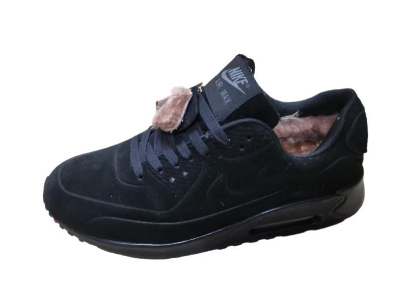 Nike Air Max 90 VT Winter (black) fur  фото #2 в «GetKeds»