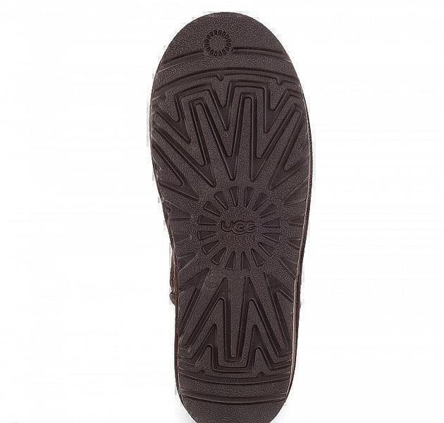 UGG Zip Mini Metallic Chocolate фото #5 в «GetKeds»