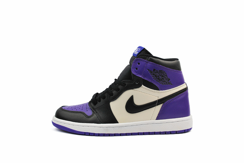 Кроссовки Nike air jordan 1  purple фото в «GetKeds»