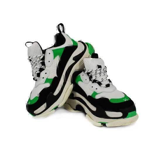 Balenciaga Triple S  White green  фото #5 в «GetKeds»