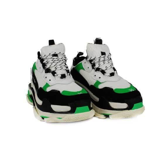 Balenciaga Triple S  White green  фото #3 в «GetKeds»