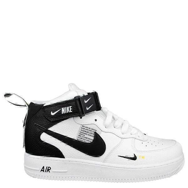 Кроссовки Nike Air Force 1 Mid 07 LV8 Utility «And The Swoosh» White фото в «GetKeds»