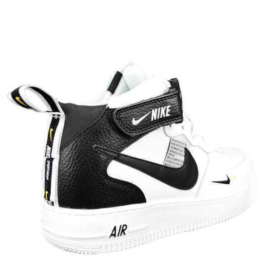 Nike Air Force 1 Mid 07 LV8 Utility «And The Swoosh» White фото #3 в «GetKeds»