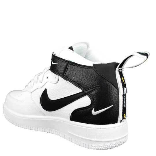 Nike Air Force 1 Mid 07 LV8 Utility «And The Swoosh» White фото #4 в «GetKeds»