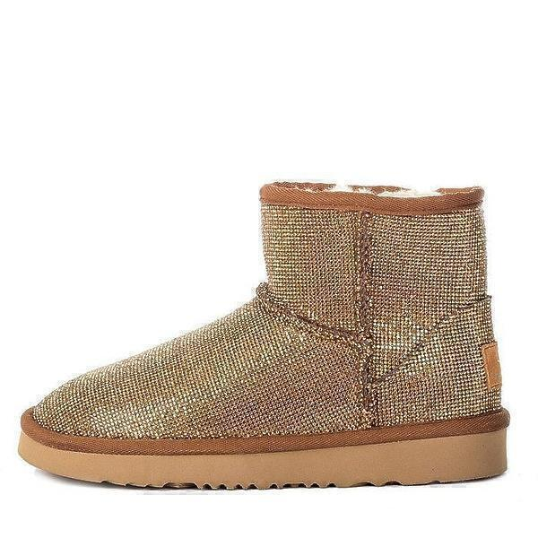UGG & Jimmy Choo Mini Serein II Gold фото #2 в «GetKeds»