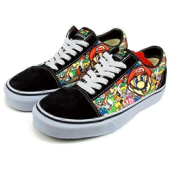 Vans old scool super mario  фото #2 в «GetKeds»