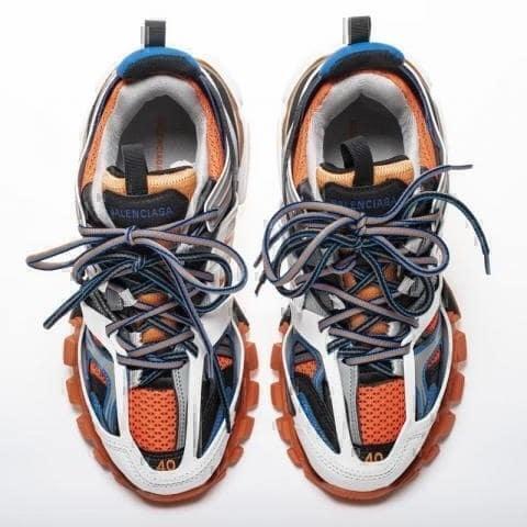 Balenciaga track orange фото #2 в «GetKeds»