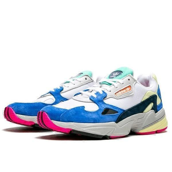 Adidas falcon blue white  фото #3 в «GetKeds»