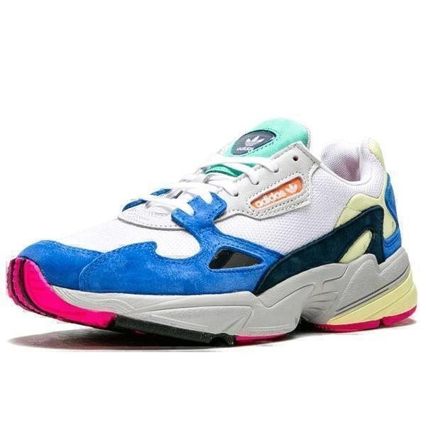 Adidas falcon blue white  фото #2 в «GetKeds»