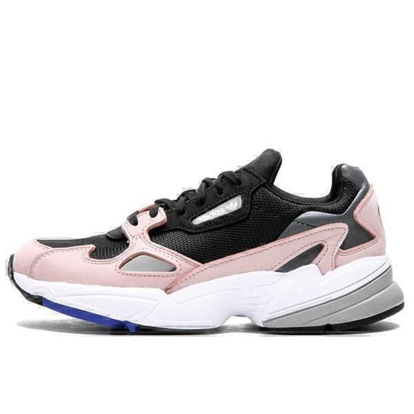 Кроссовки  adidas falcon black pink фото в «GetKeds»