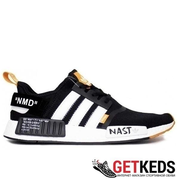 Adidas nmd 1x off white black orange nast фото #2 в «GetKeds»