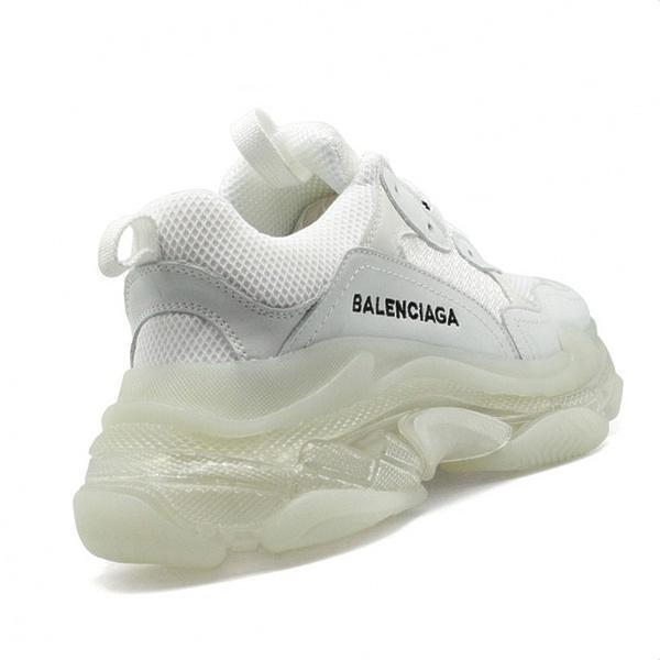 Balensiaga Triple S clear sole  White  фото #3 в «GetKeds»