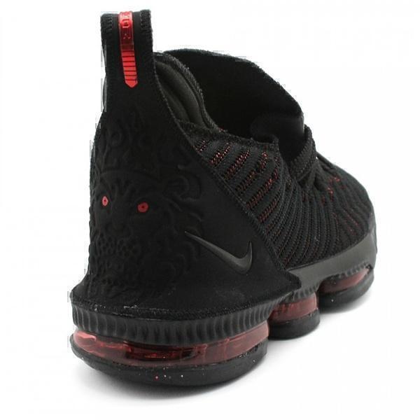 Nike LeBron 16 Black-Red фото #3 в «GetKeds»