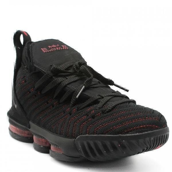 Nike LeBron 16 Black-Red фото #2 в «GetKeds»