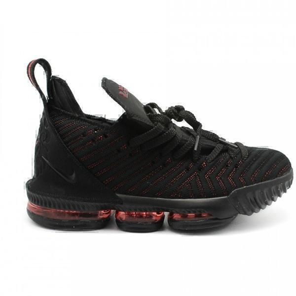 Кроссовки Nike LeBron 16 Black-Red фото в «GetKeds»