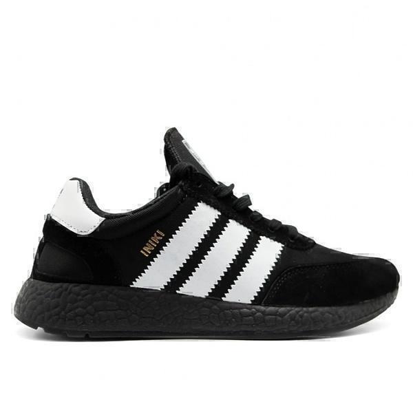 Кроссовки Adidas iniki runner boost  black  фото в «GetKeds»
