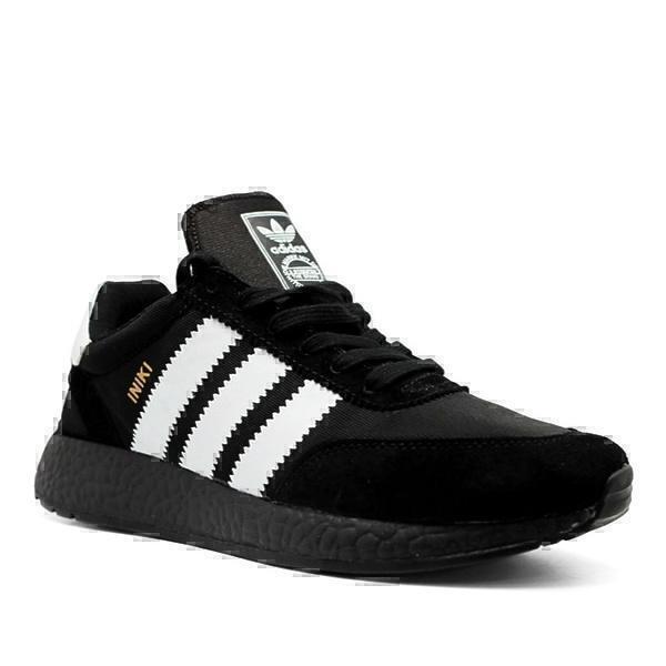 Adidas iniki runner boost  black  фото #2 в «GetKeds»