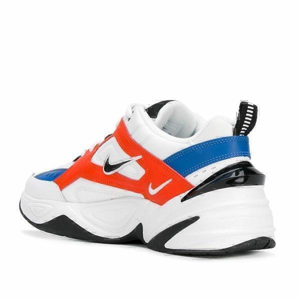 Nike m2k tekno white orange фото #3 в «GetKeds»
