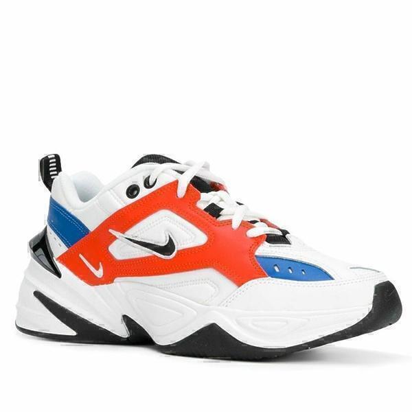 Nike m2k tekno white orange фото #2 в «GetKeds»