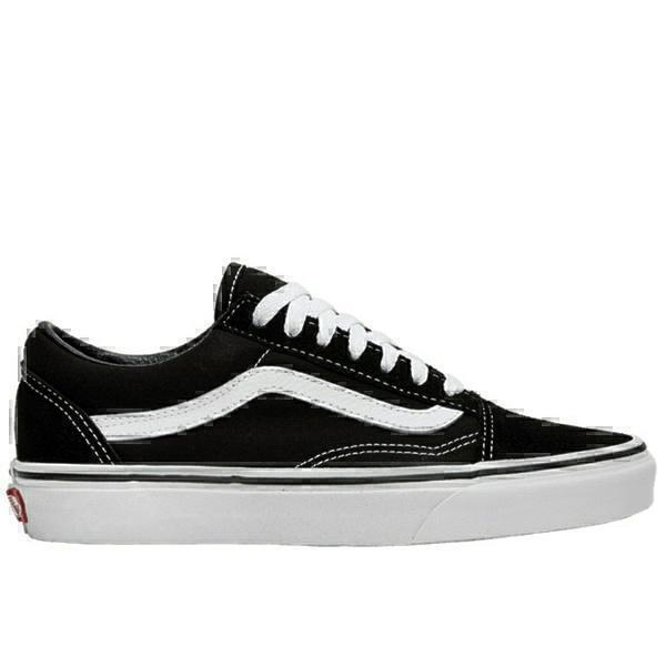 Vans old scool black white
