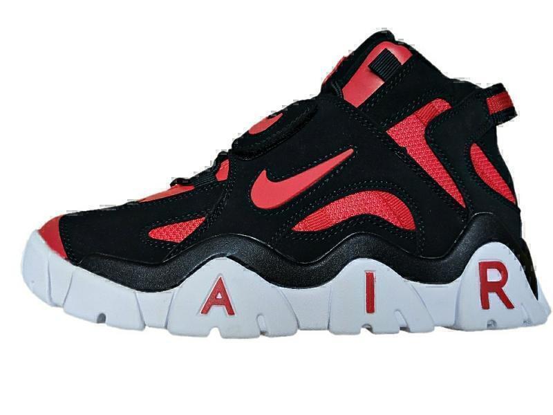 Кроссовки Nike air barrage black red фото в «GetKeds»
