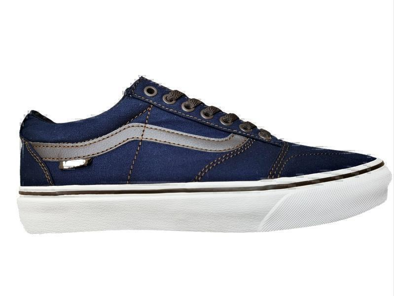 Кроссовки Vans jeans dark blue
