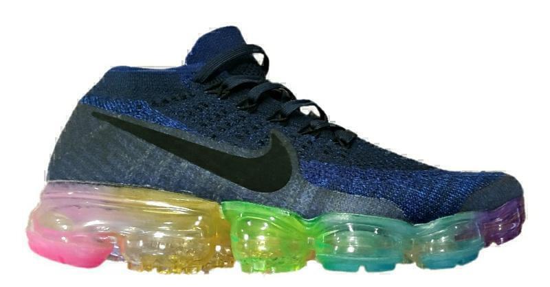 Кроссовки Nike air vapormax flyknit blue фото в «GetKeds»