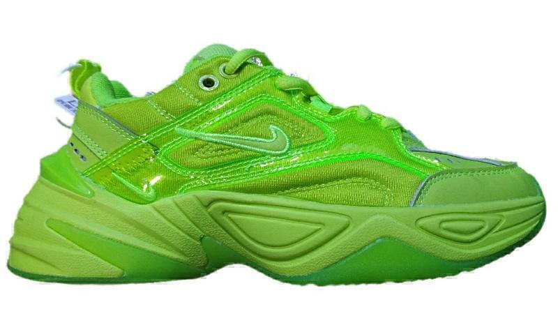 Кроссовки Nike m2k tekno ultra green фото в «GetKeds»