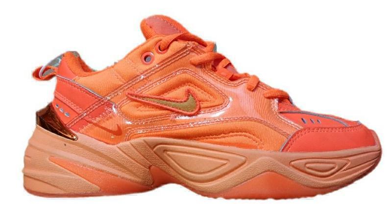 Кроссовки Nike m2k tekno ultra orange фото в «GetKeds»